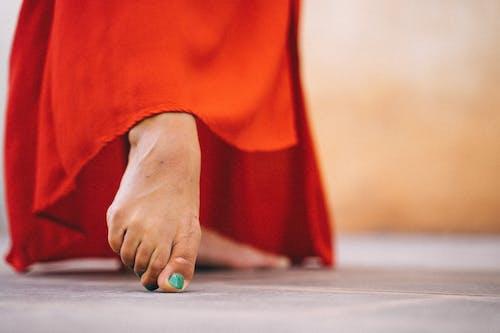 Close-Up Photo Of a Bare Feet