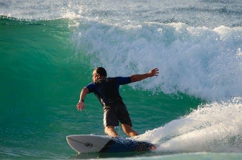 Free stock photo of beach, board, morning