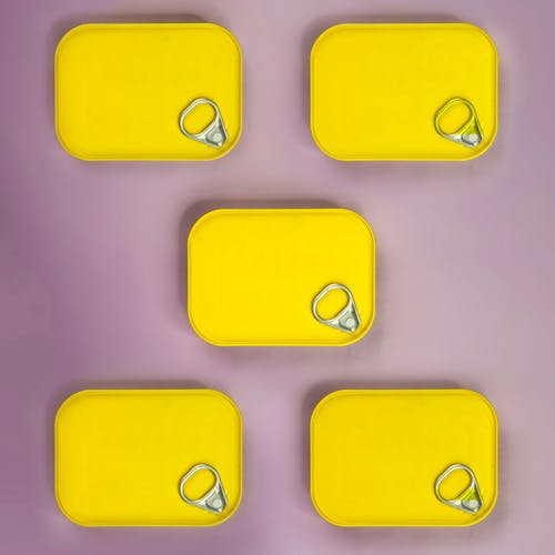 Yellow and Blue Iphone Case