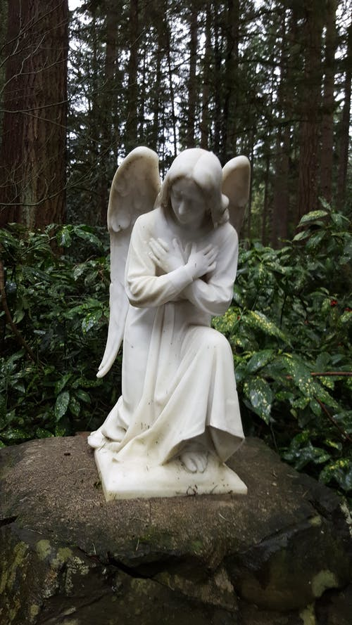 Free stock photo of angel, statue
