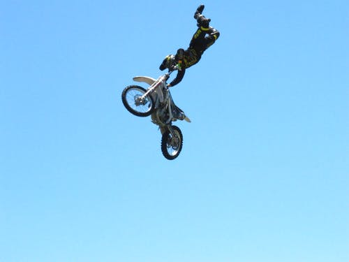 Free stock photo of motorcycle, motorcycle stunt, san diego fair