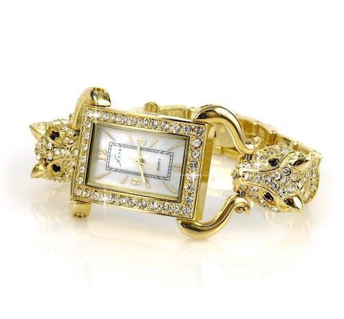 Imagine de stoc gratuită din accesoriu, aur, auriu, ceas de mână