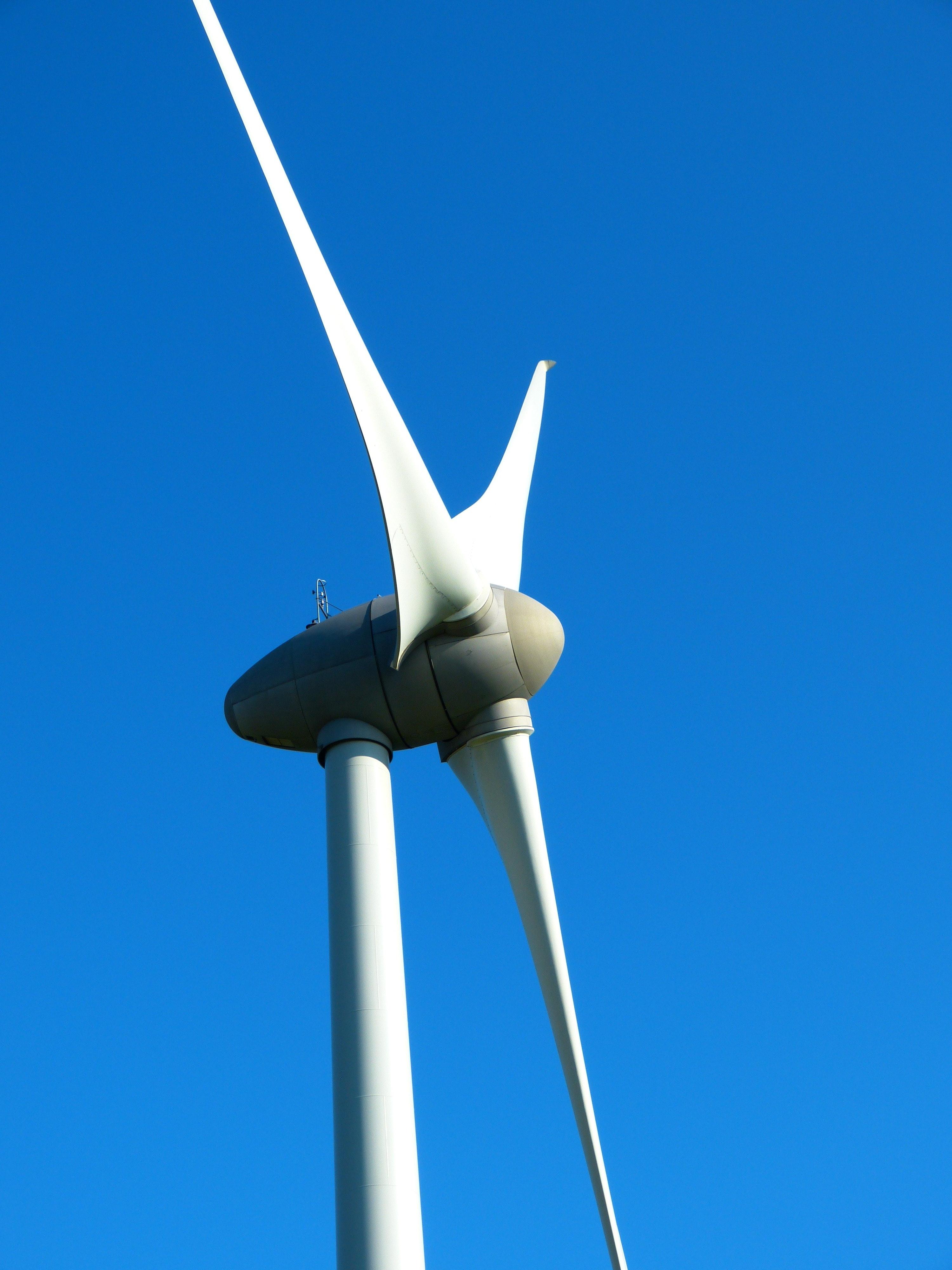 Wind Vane Beside Roof 183 Free Stock Photo