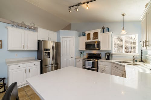 Interior Design of a Kitchen at Home