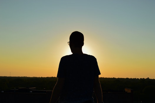 Free stock photo of sunset, person, sunrise, silhouette