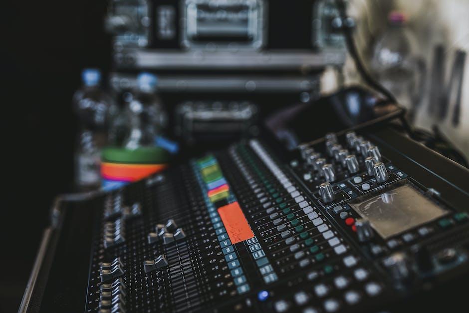Audio audio mixer controls electronics