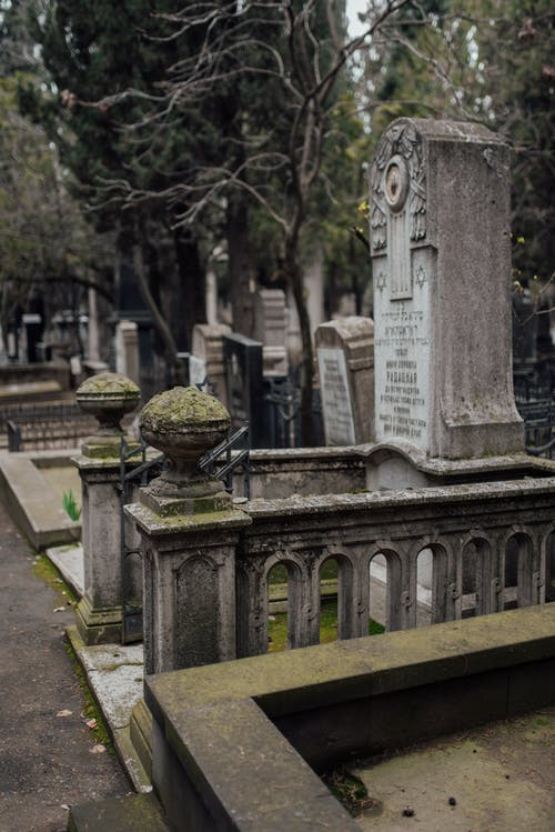 Photo Of An Old Graveyard