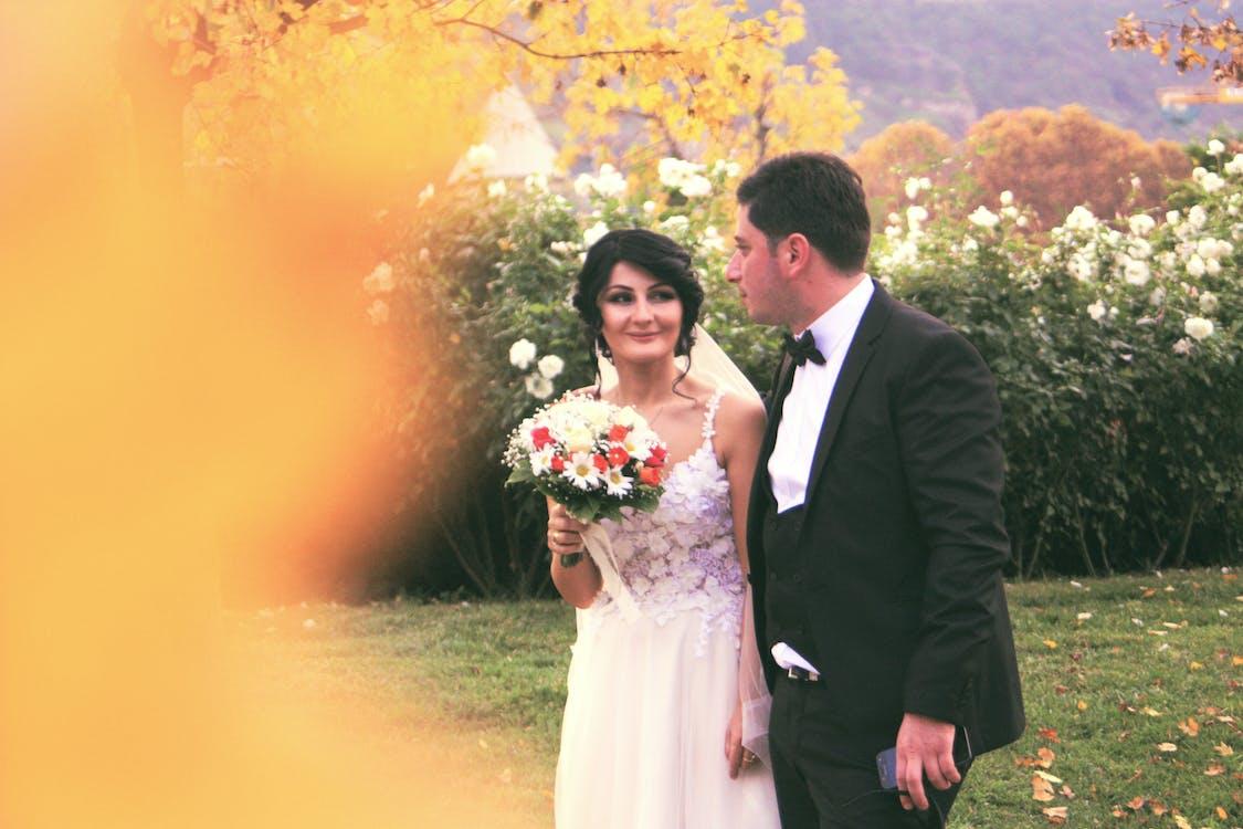 bó hoa, cam kết, cặp vợ chồng