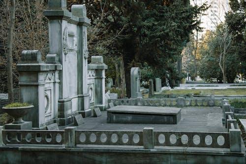 Gratis lagerfoto af ældet, begravelsesplads, dagtimer