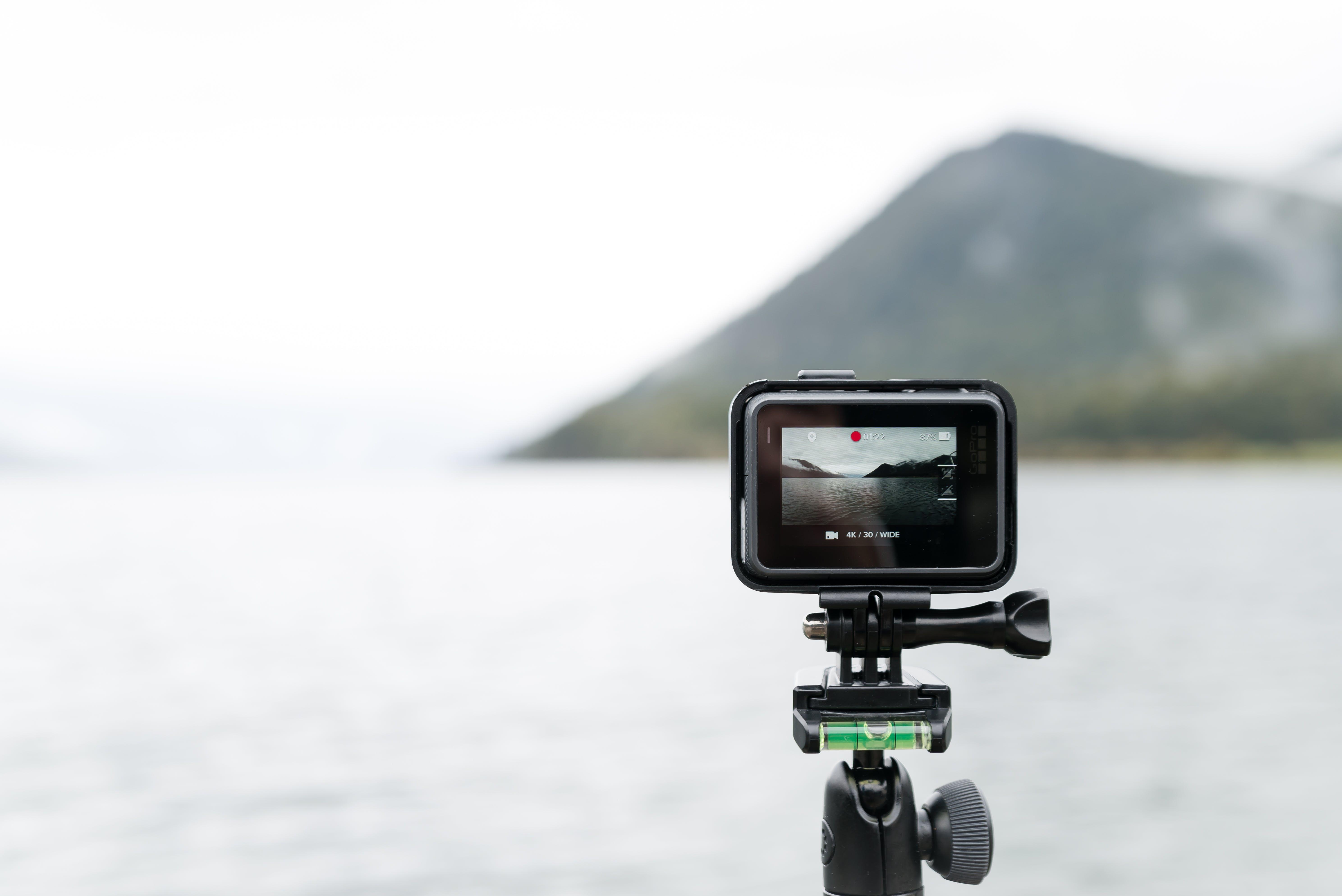 Free stock photo of landscape, camera, taking photo, lake
