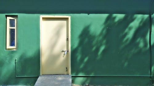 Free stock photo of background image, dark green, door