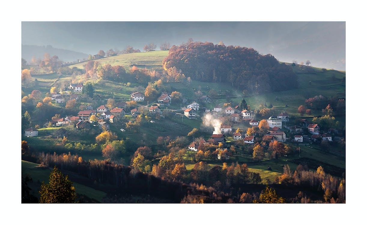 Photos gratuites de village bosniaque