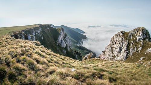 Δωρεάν στοκ φωτογραφιών με βουνό, βουνοκορφή, γαλήνιος, γρασίδι