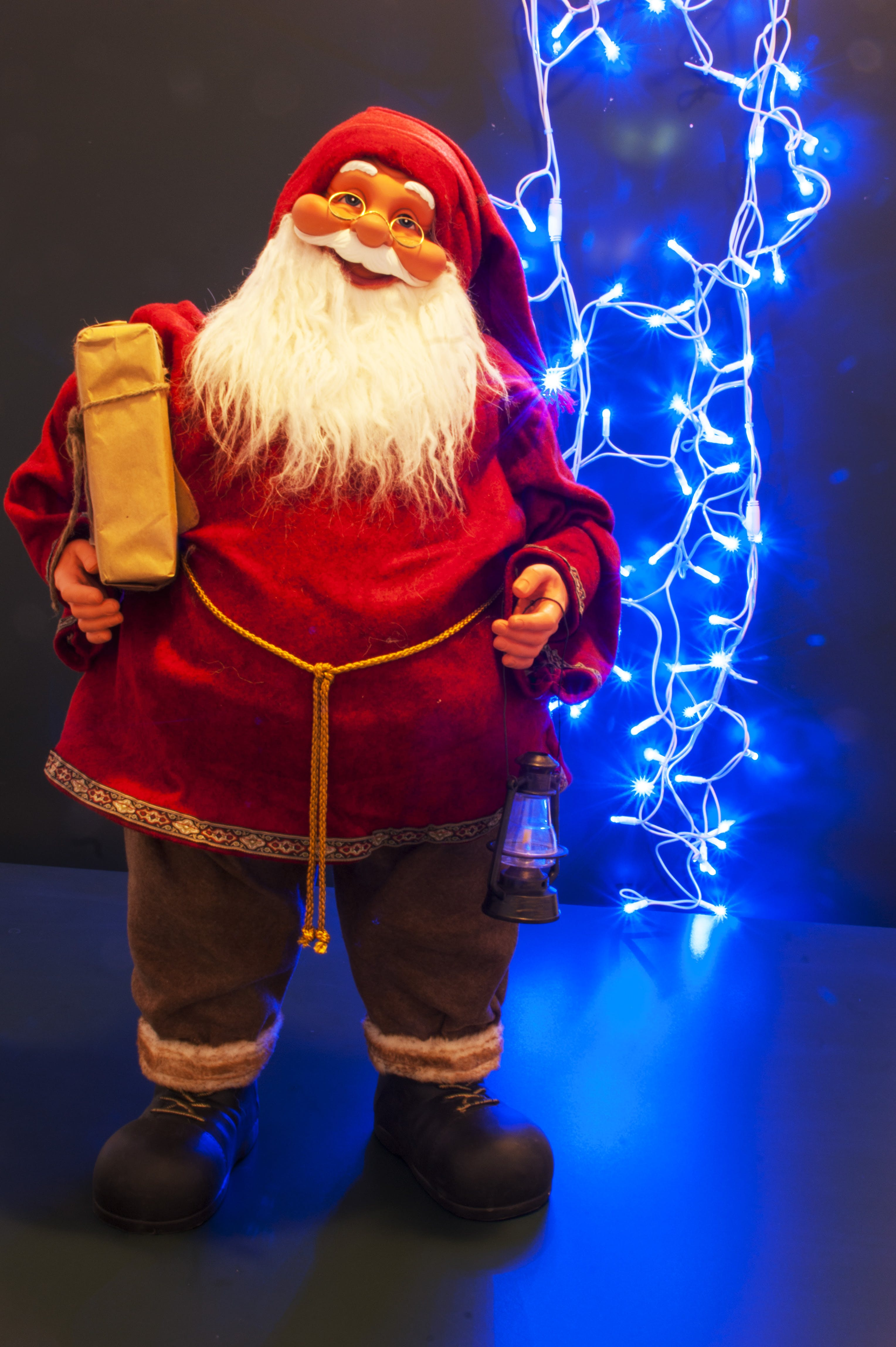 Základová fotografie zdarma na téma modrá, nový rok, rok, santa