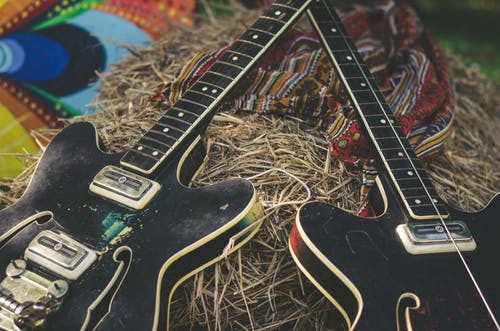 Free stock photo of electric guitar, festival, guitar