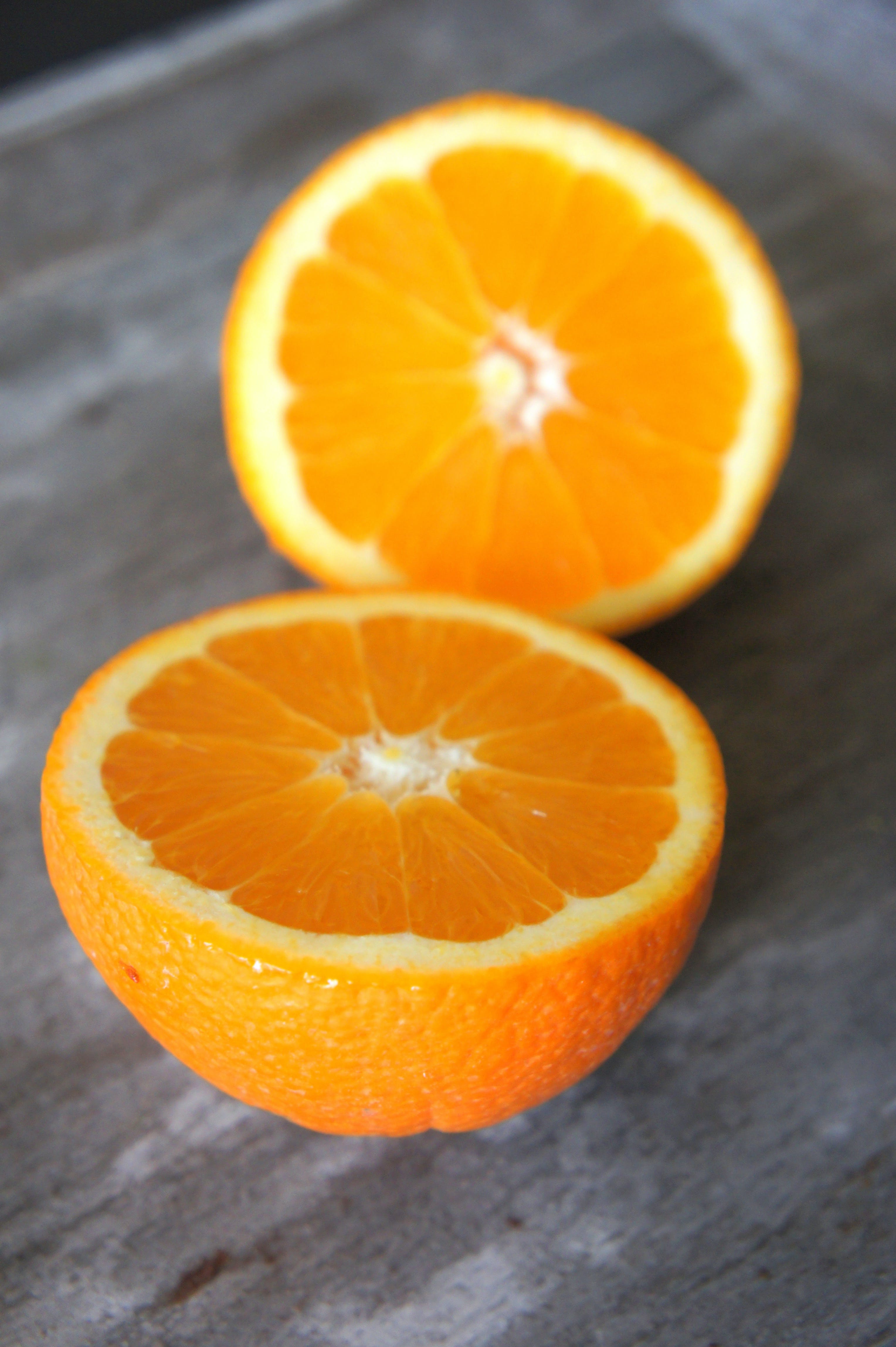 Sliced Orange Fruit