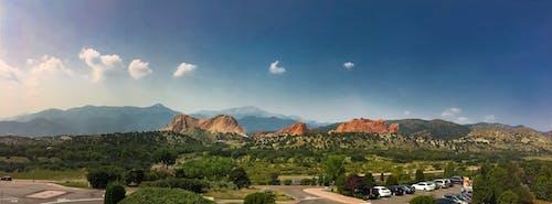 Foto d'estoc gratuïta de arbres, cel, colorado, muntanya