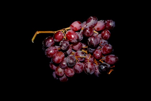 Red Grapes Fruit