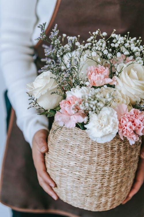 Ảnh lưu trữ miễn phí về bó, bó hoa, cái rổ