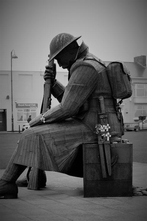 Foto profissional grátis de lembrança, recordação, soldado