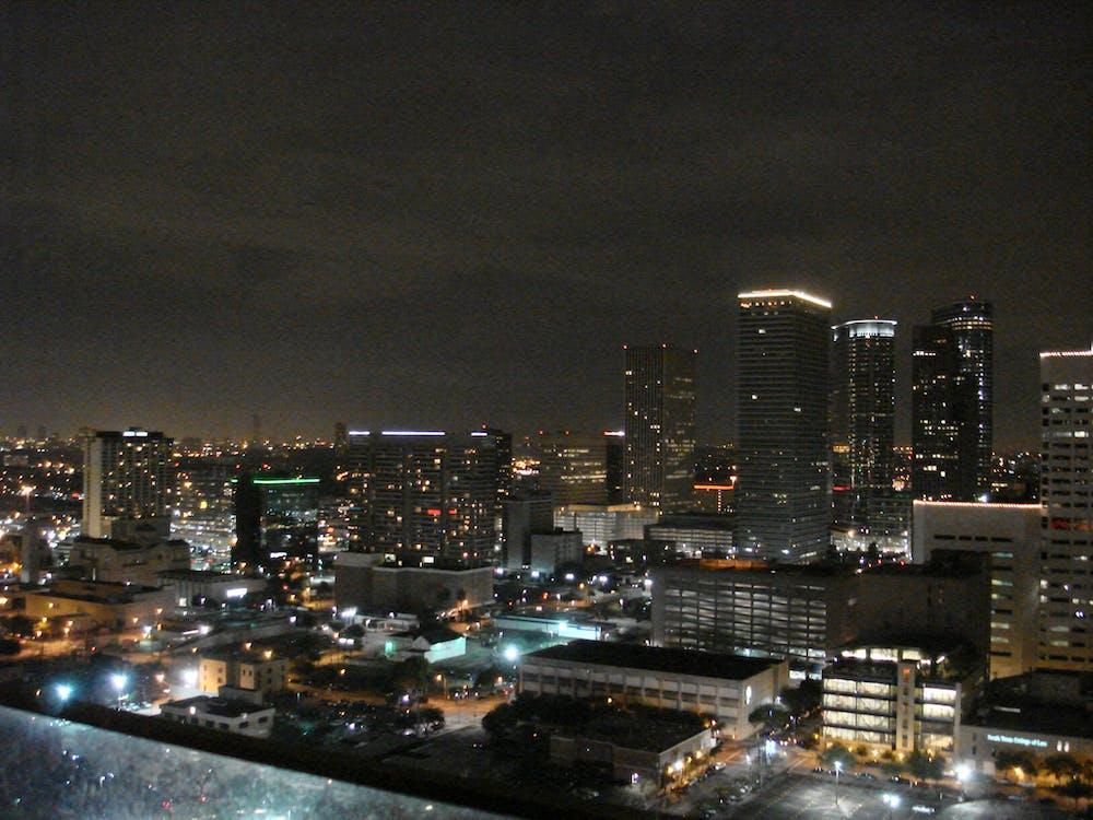 Free stock photo of houston skyline