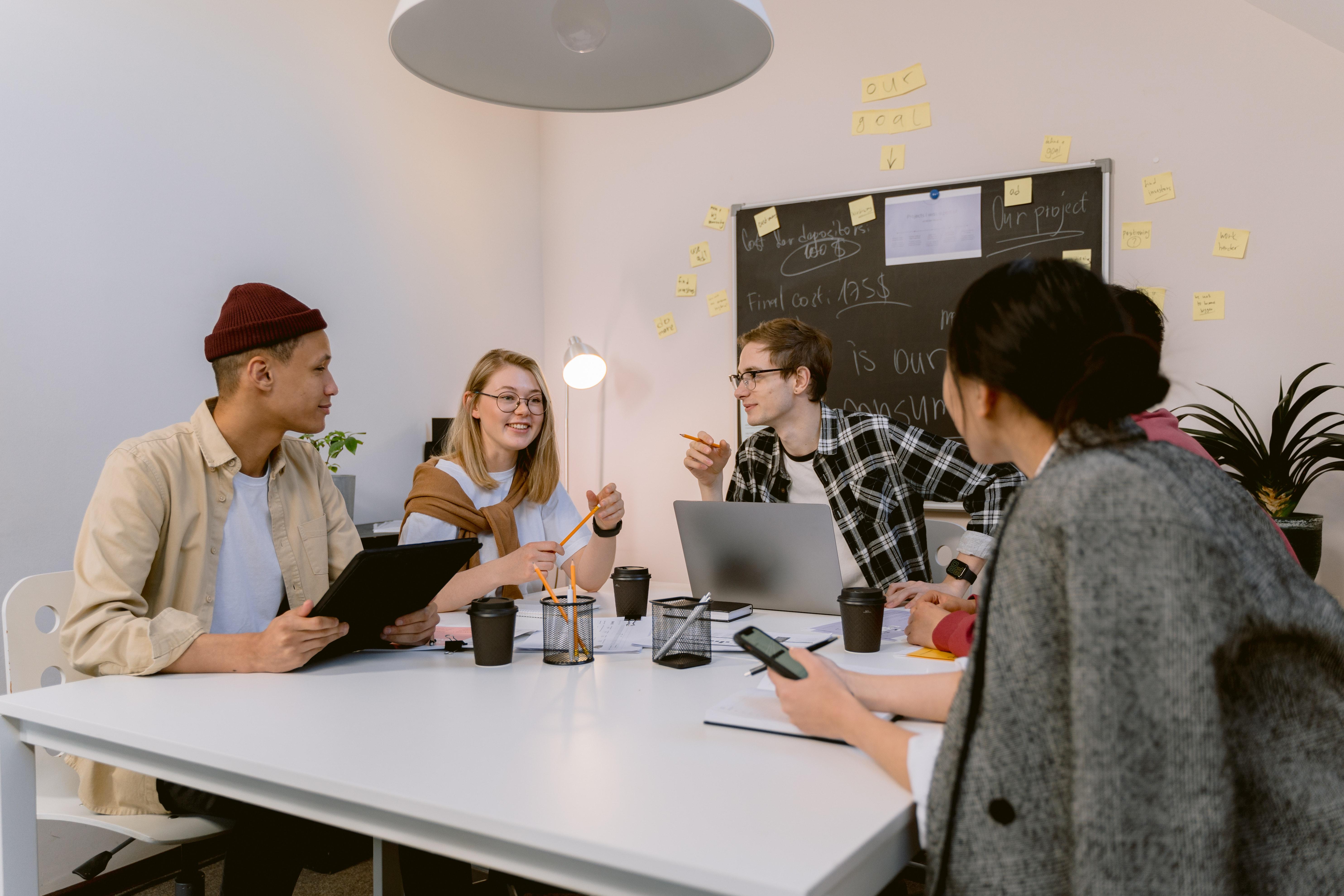 Sugestões da equipe para inovação em pequenas empresas