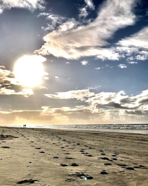Gratis lagerfoto af bølger, dagslys, folk, hav