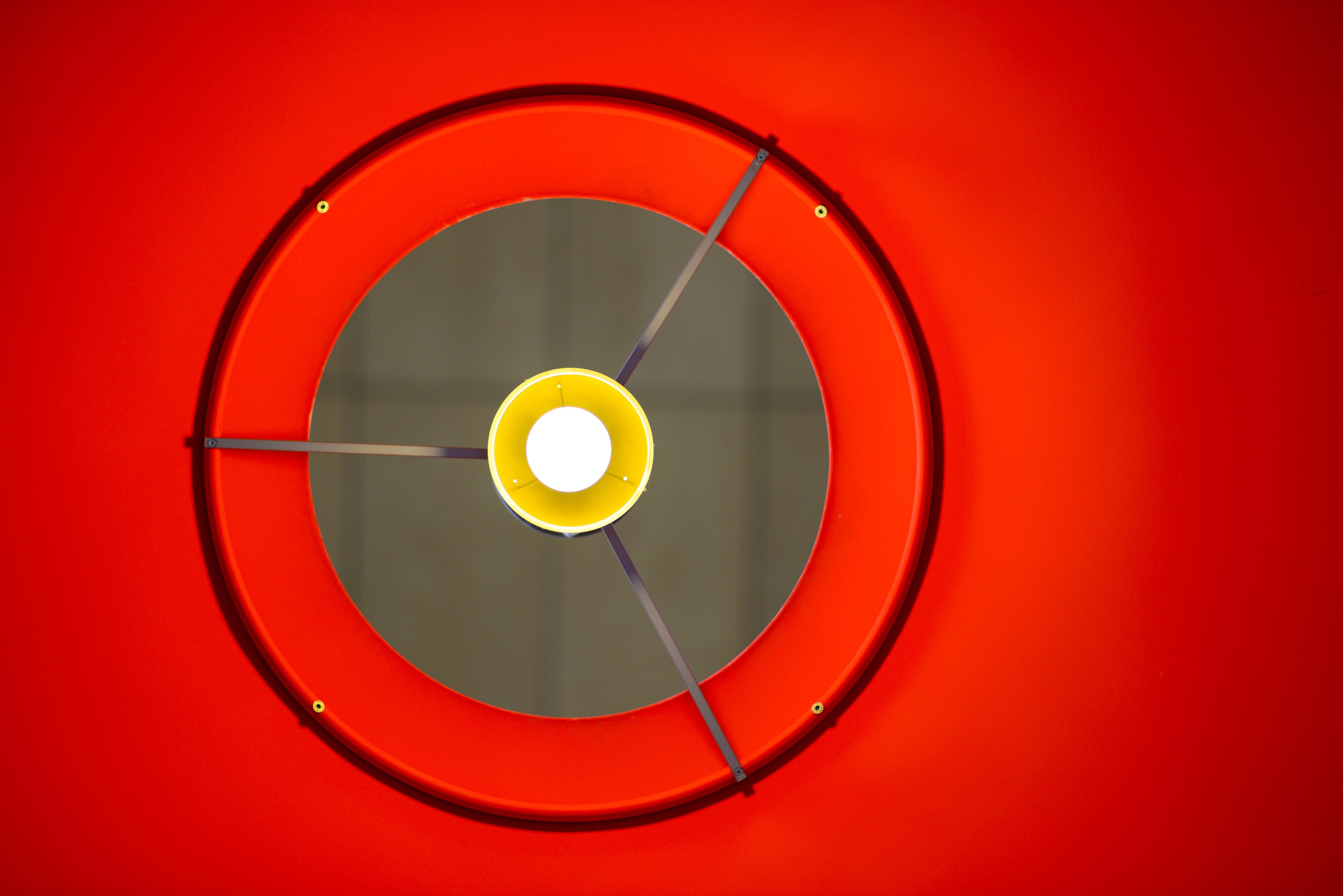 Red Lamp Shade