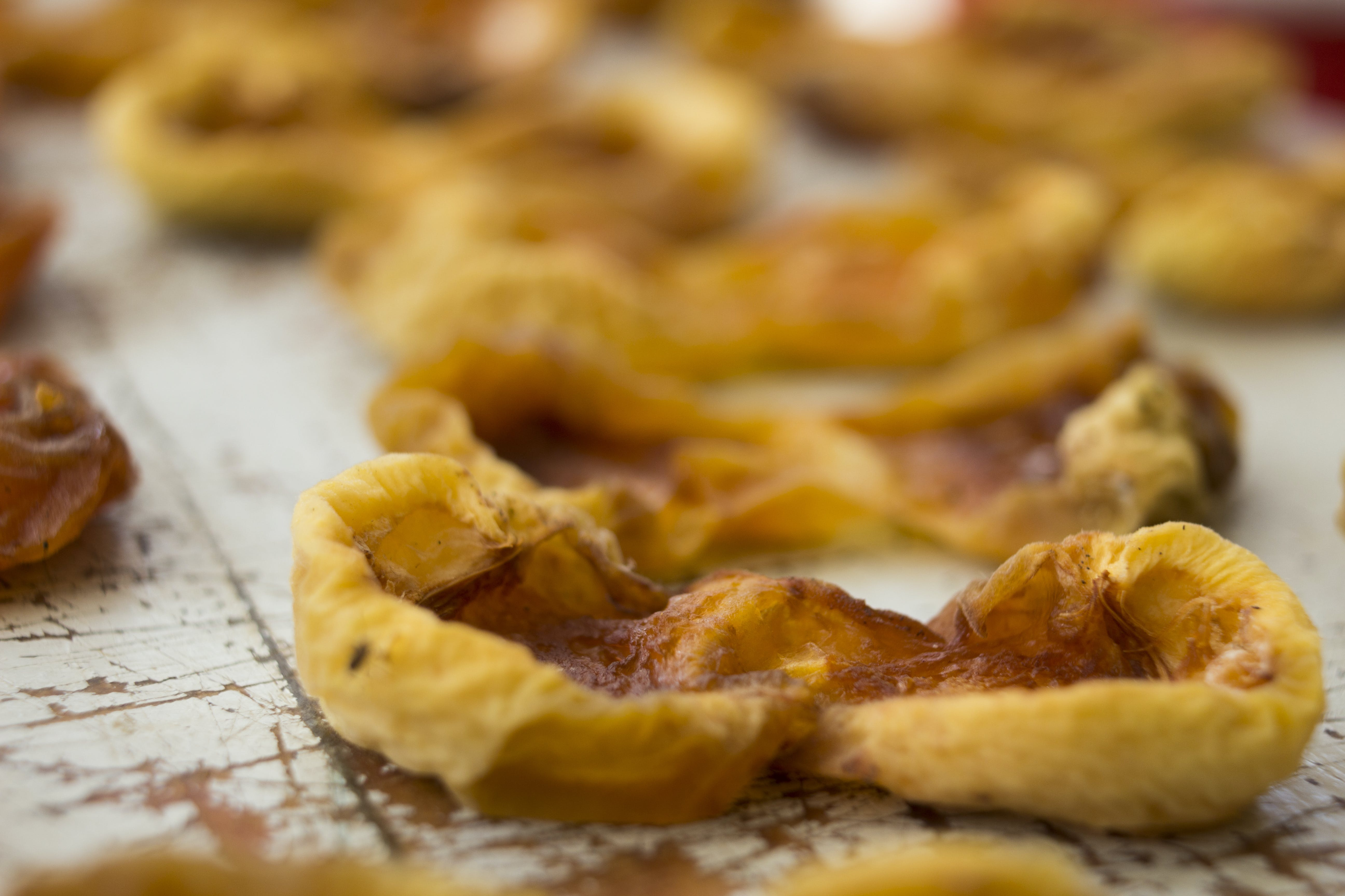 Free stock photo of arpicot, detail, dried apricot, dried fruit