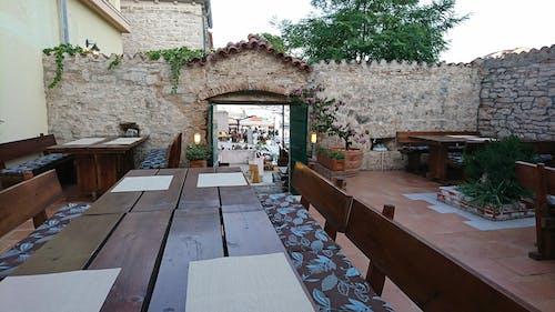 Ingyenes stockfotó étterem, falak, Horvátország, jachtkikötő témában