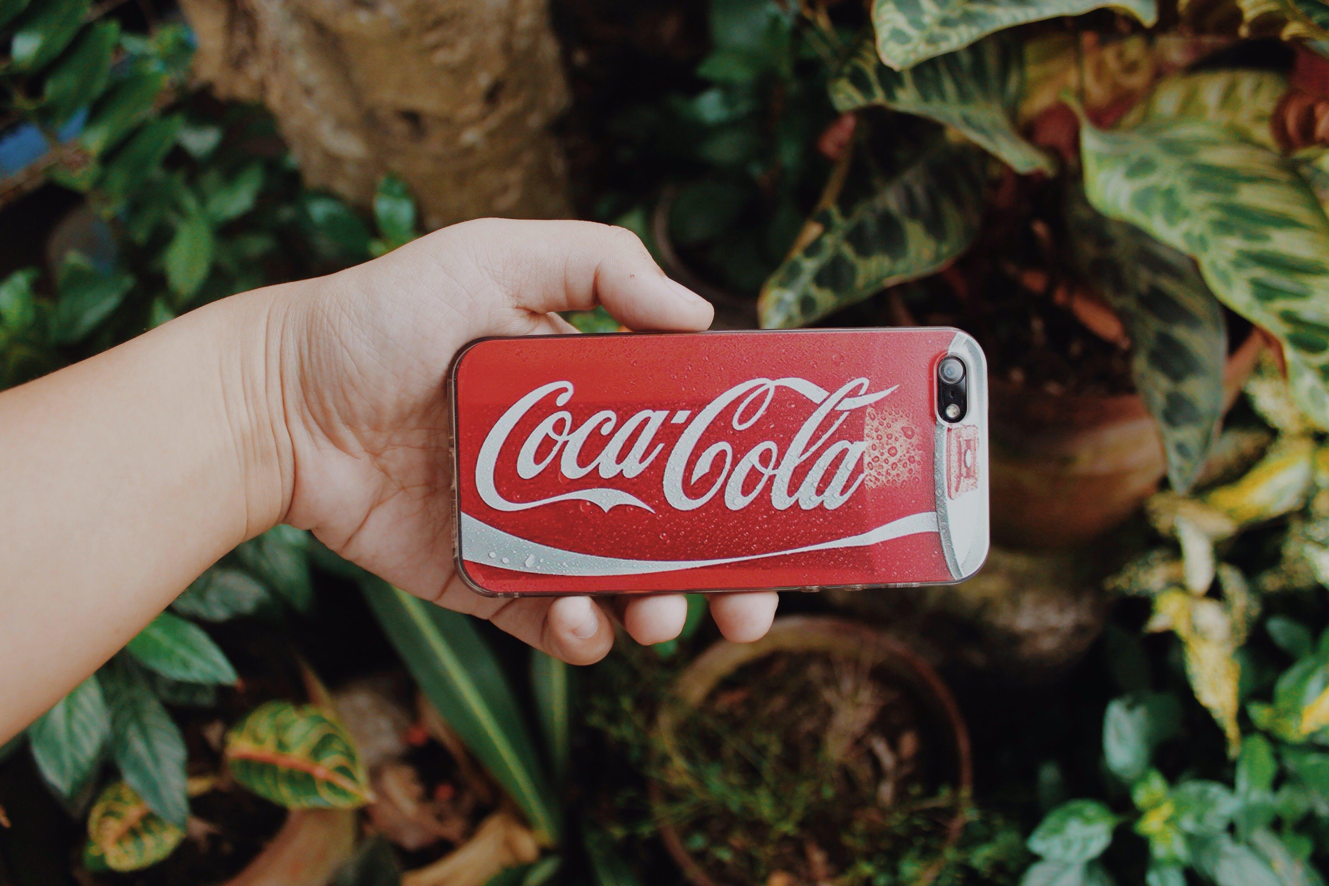 Red and White Coca-cola Smartphone Case