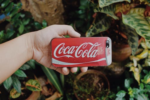Kostenloses Stock Foto zu coca cola, fall, farbe, fotografie
