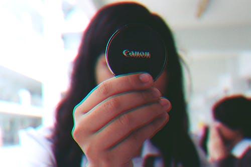 açık, bulanıklık, canon, el içeren Ücretsiz stok fotoğraf