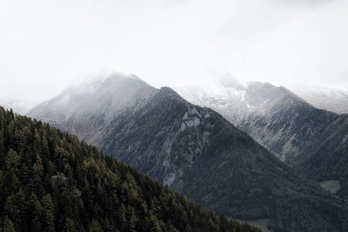 Mountain Summit Scenery