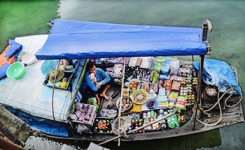 Free stock photo of above sea, boat, halong bay