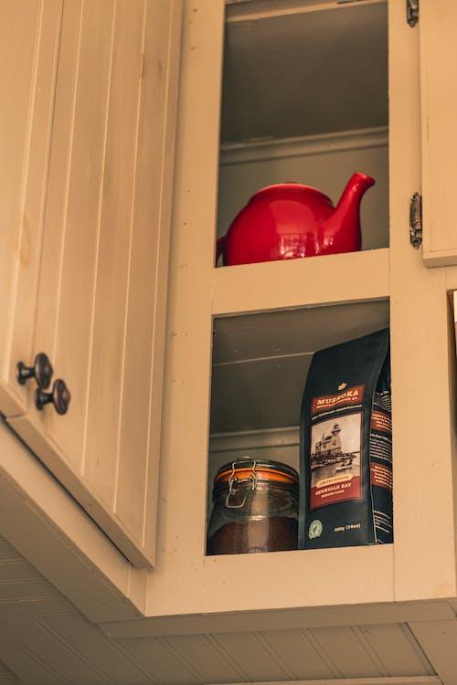 Free stock photo of coffee, cupboard, kitchen