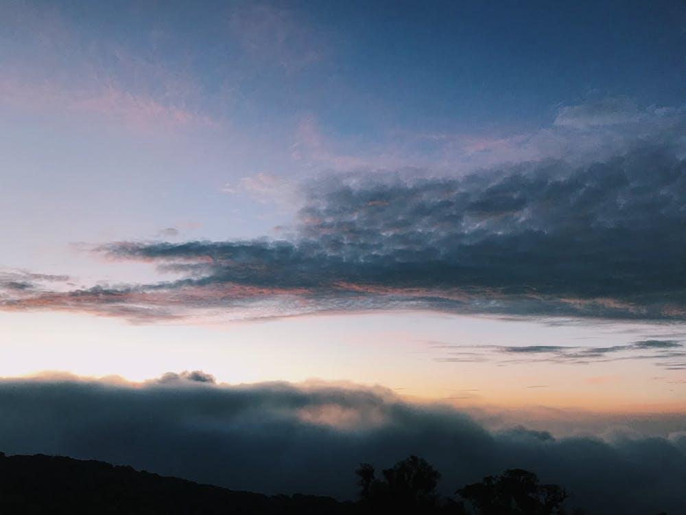 cel, llum del dia, muntanyes
