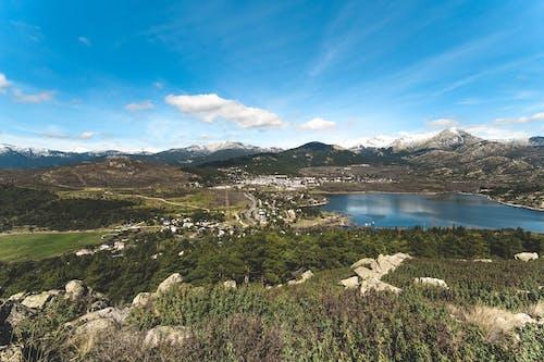 Immagine gratuita di alberi, cielo azzurro, lago