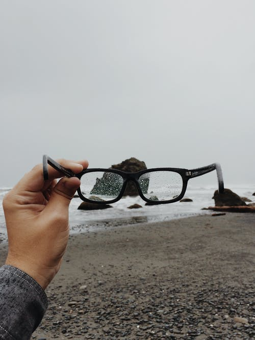 Black Framed Eyeglasses