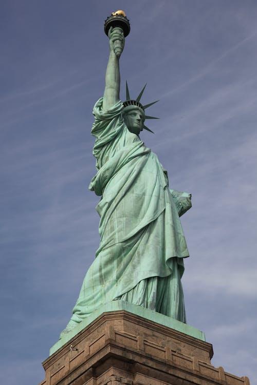 Foto stok gratis Monumen, new york, patung, Patung Liberty