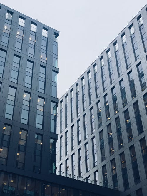Free stock photo of office block, office building