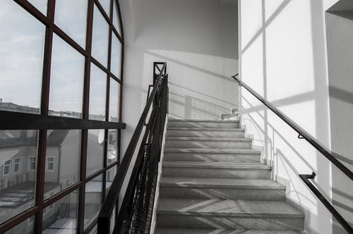Free stock photo of building, shadows, stairs