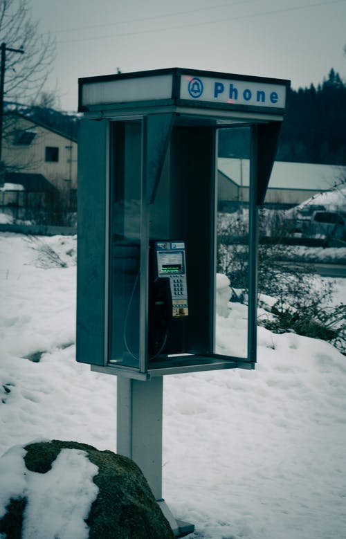 Free stock photo of antique, historic, payphone