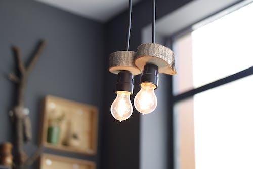 Бесплатное стоковое фото с лампочки, огни, светящийся