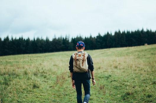 Free stock photo of nature, man, hiking, adventure