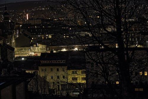 Gratis stockfoto met stad 's nachts