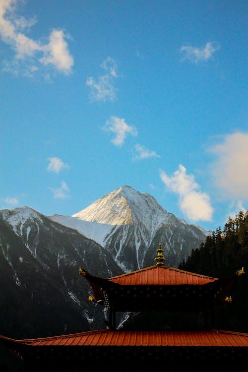 Kostnadsfri bild av arkitektur, berg, dagsljus