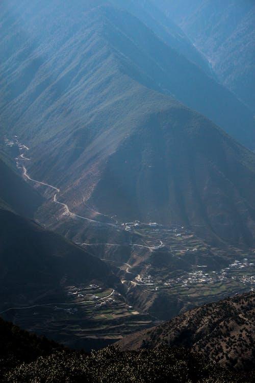 Kostnadsfri bild av birdview, deqin, Kina