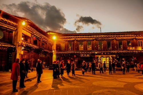 Kostnadsfri bild av fyrkantig dans, gammal stad, gatufoto
