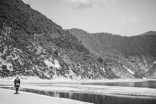 Kostnadsfri bild av berg, gående, grässlätt